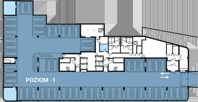 Biurowiec Astris - garaż