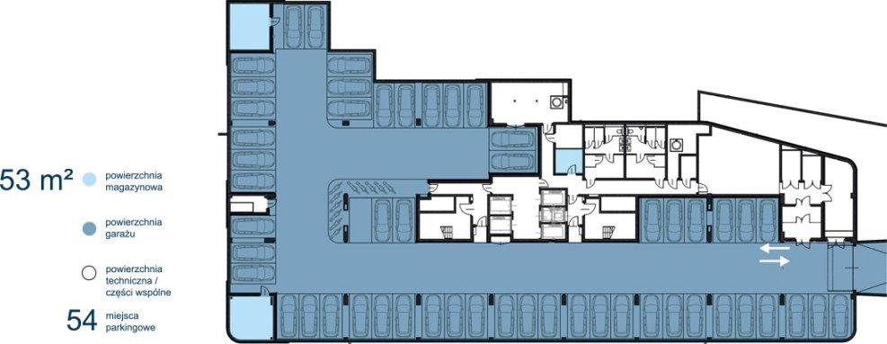 Biurowiec Astris - poziom -2